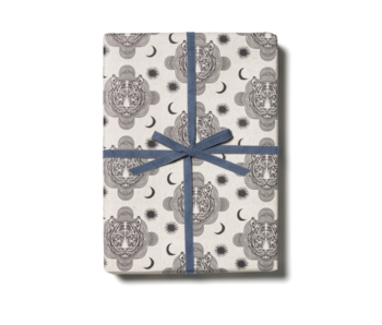 Tiger Heads Gift Wrap