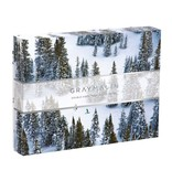 Chronicle Books Gray Malin The Snow Two-sided Puzzle