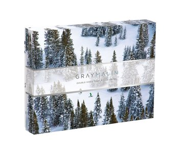 Gray Malin Snow 2 Sided Puzzle