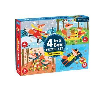 Four Seasons 4-In-A-Box Puzzle