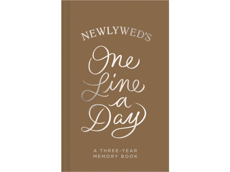 Chronicle Books Newlywed's One Line A Day