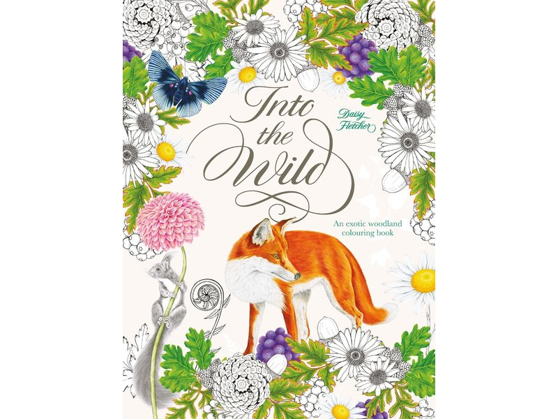 Chronicle Books Into The Wild Coloring Book