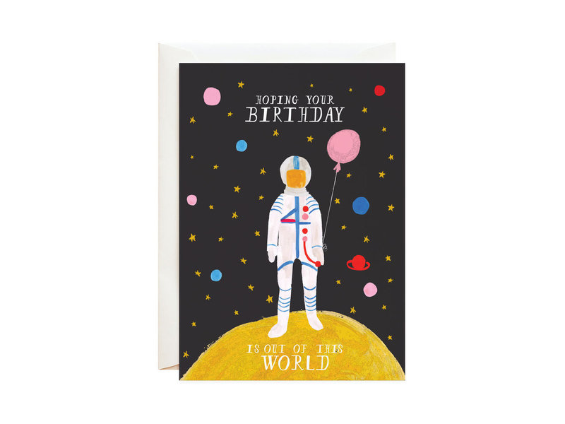 Mr. Boddington's Out of This World Greeting Card