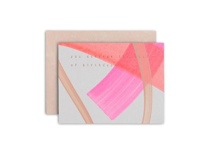 Moglea Best of Birthdays Pink