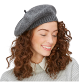 Two's Company Wool Blend Beret