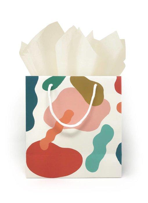Color Blobs Gift Bag
