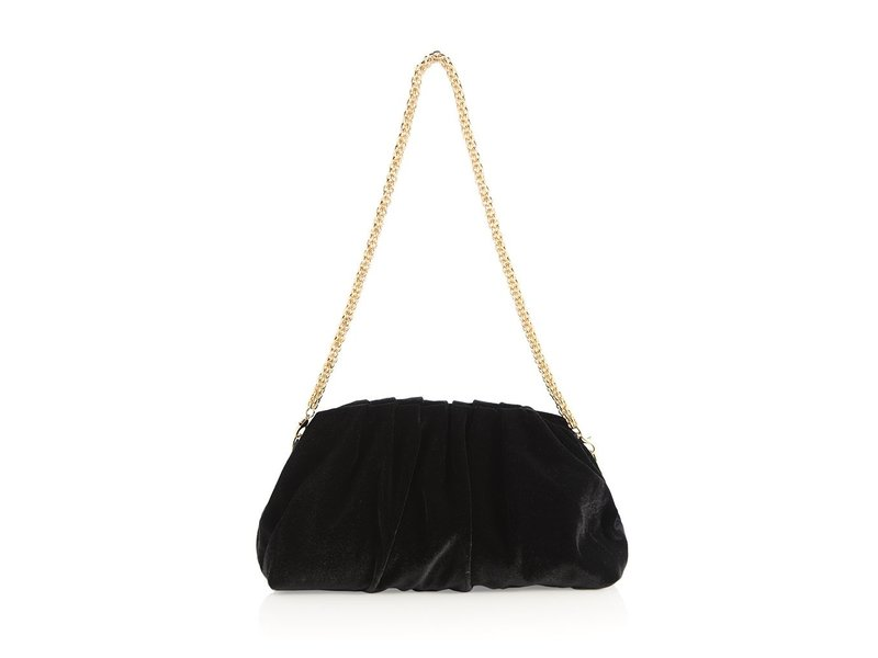 Shiraleah Carmen Black Clutch