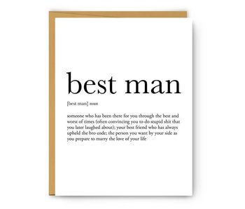 Best Man Definition