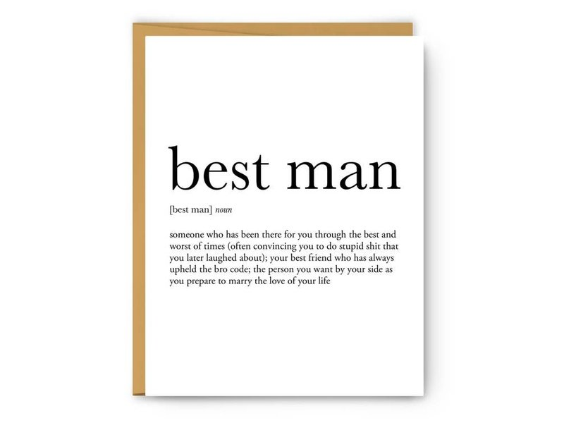 Footnotes Best Man Definition