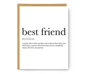 Bestfriend Definition