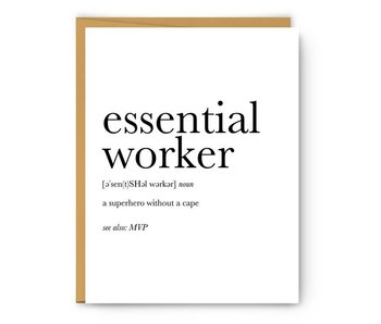 Essential Worker Definition
