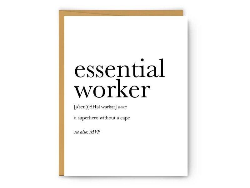Footnotes Essential Worker Definition