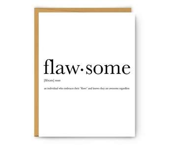 Flawsome Definition