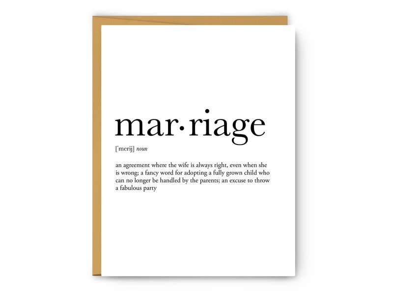 Footnotes Marriage Definition