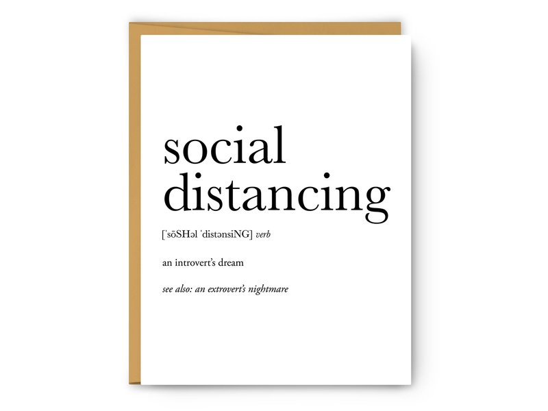 Footnotes Social Distancing Definition