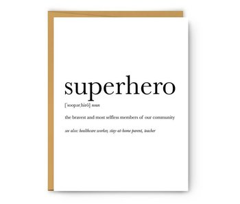 Superhero Definition