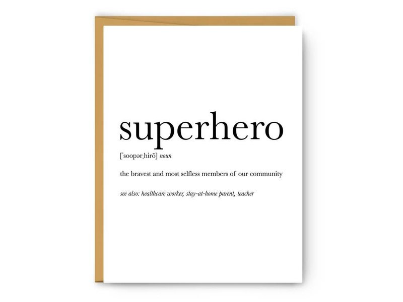 Footnotes Superhero Definition