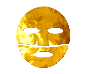 25K Gold Foil Face Mask