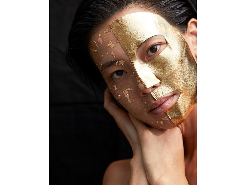 LAPCOS 25K Gold Foil Face Mask