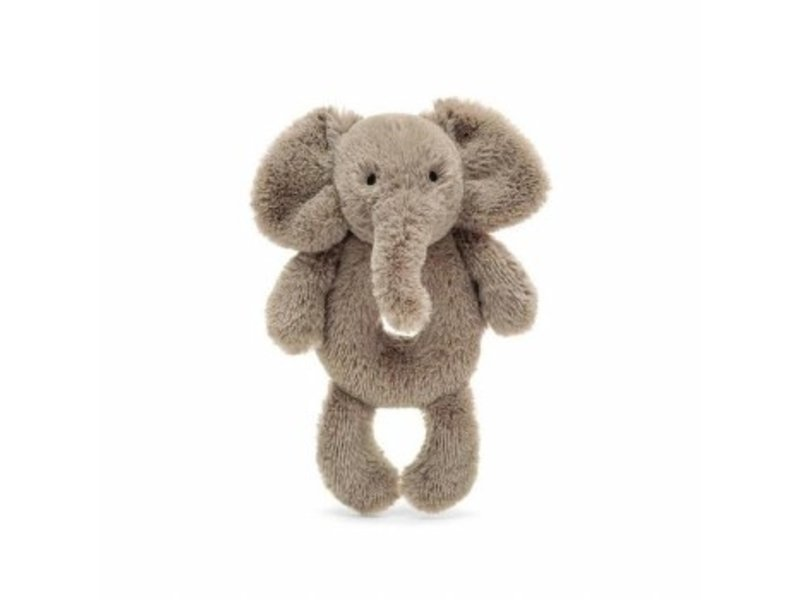 JellyCat Inc Smudge Elephant Ring Rattle