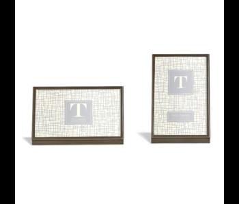 Modern Gunmetal Silver Frames