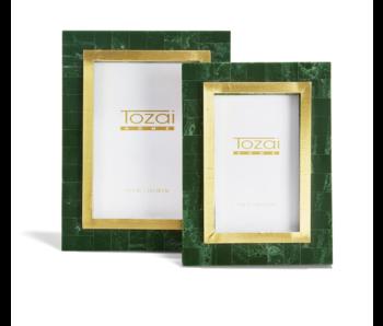 Aventurine Green & Gold Photo Frame
