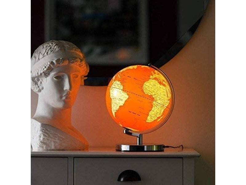 Wild & Wolf Globe Light Goldfish Orange