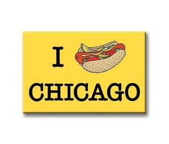 Hot Dog Chicago Magnet