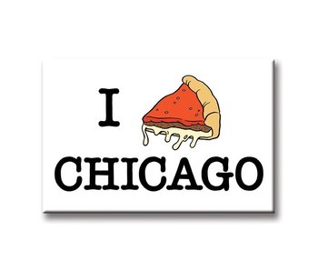 I Pizza Chicago Magnet