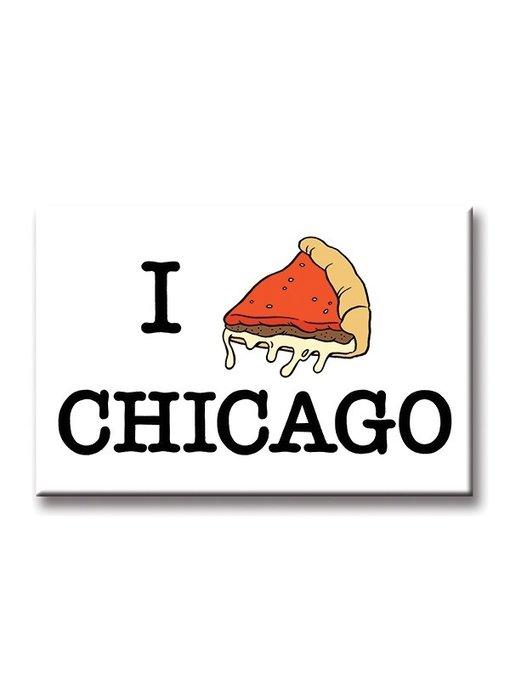 I Pizza Chicago Magnet
