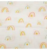 Loulou Lollipop Pastel Rainbow Swaddle