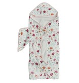 Loulou Lollipop Rosey Bloom Bathtime Towel