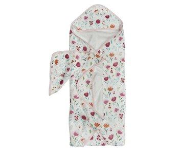 Rosey Bloom Bathtime Towel