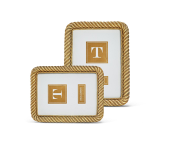Gold Rope Photo Frames