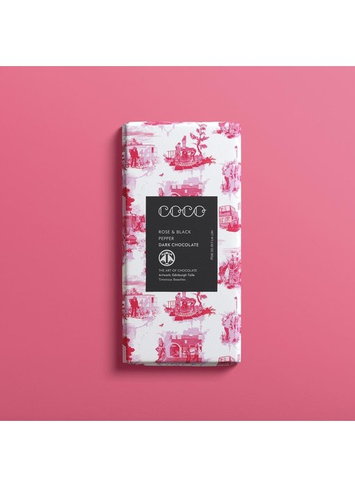 Rose & Black Pepper Chocolate Bar