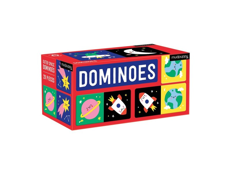 Chronicle Books Dominoes Outer Space