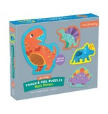 Chronicle Books Mighty Dinosaurs My First Touch & Feel Puzzle