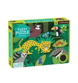 Chronicle Books Fuzzy Rainforest Puzzle