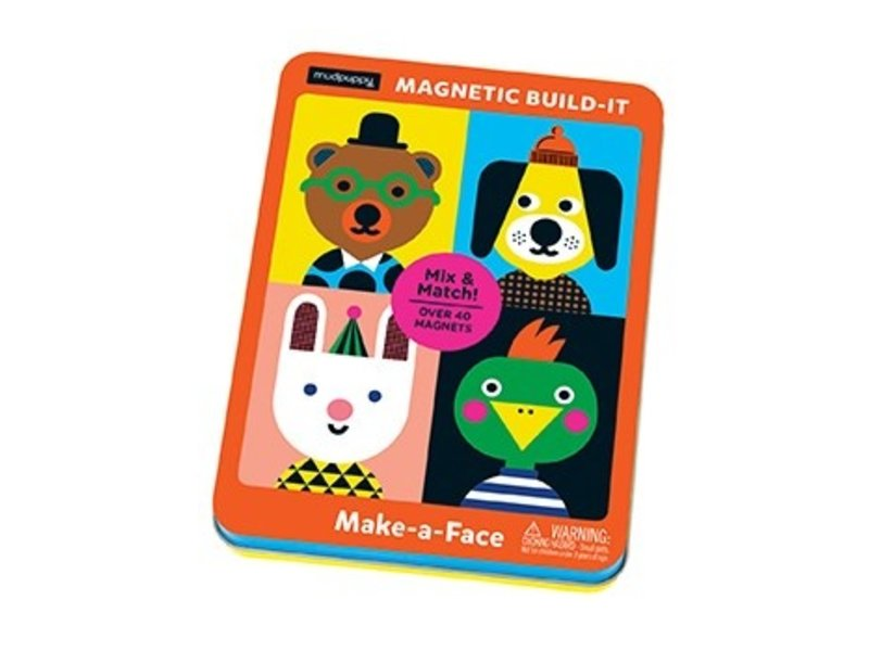 Chronicle Books Magnetic Fun Make-a-Face