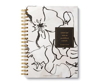 Undated Planner: Everyday Holds the Possibility