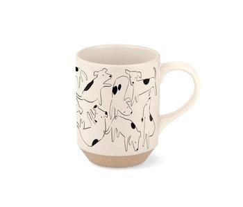 Dog Spot Stoneware Mug