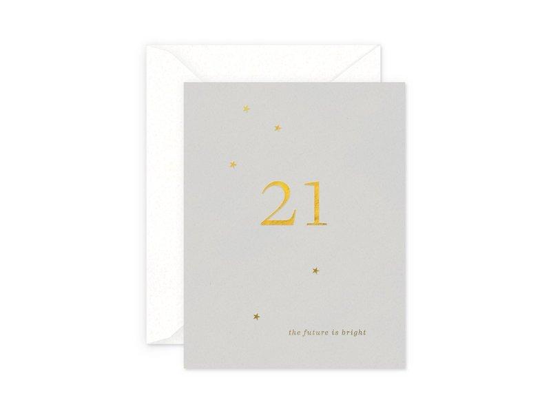 Smitten on Paper 21 Milestone Birthday