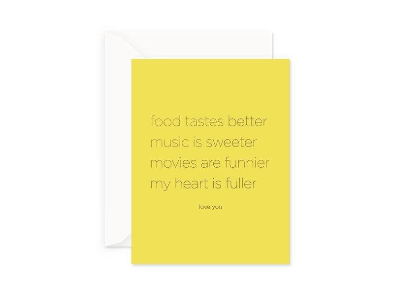 Smitten on Paper Full Heart