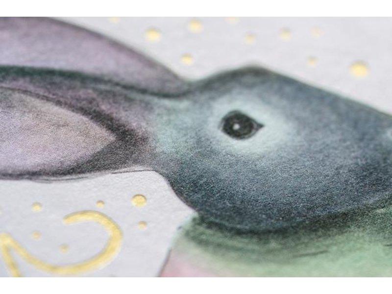 Good JuJu Ink Rainbow Easter Bunny
