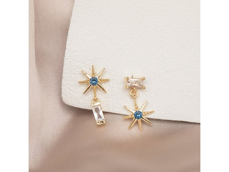 Girls Crew Del Sol Earrings Gold