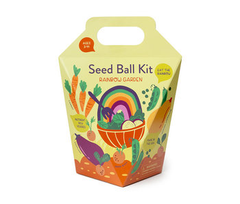 Rainbow Garden Seed Ball Kit