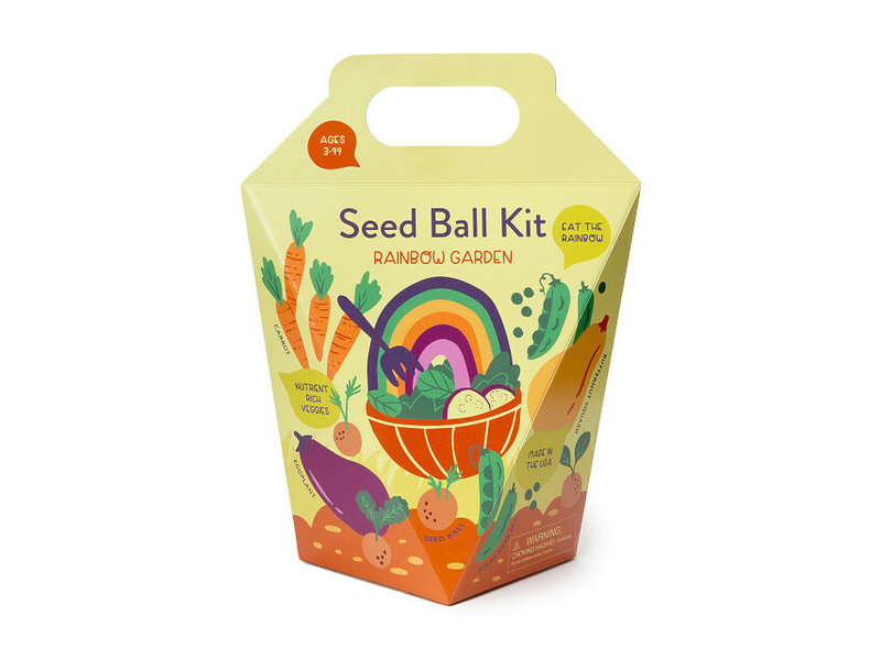 Modern Sprout Rainbow Garden Seed Ball Kit