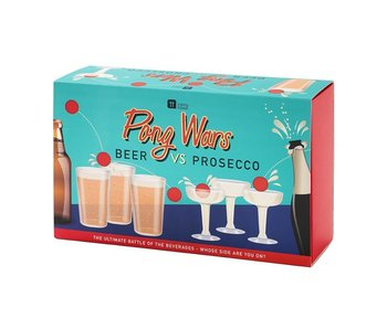 Pong Wars Beer Vs. Prosecco