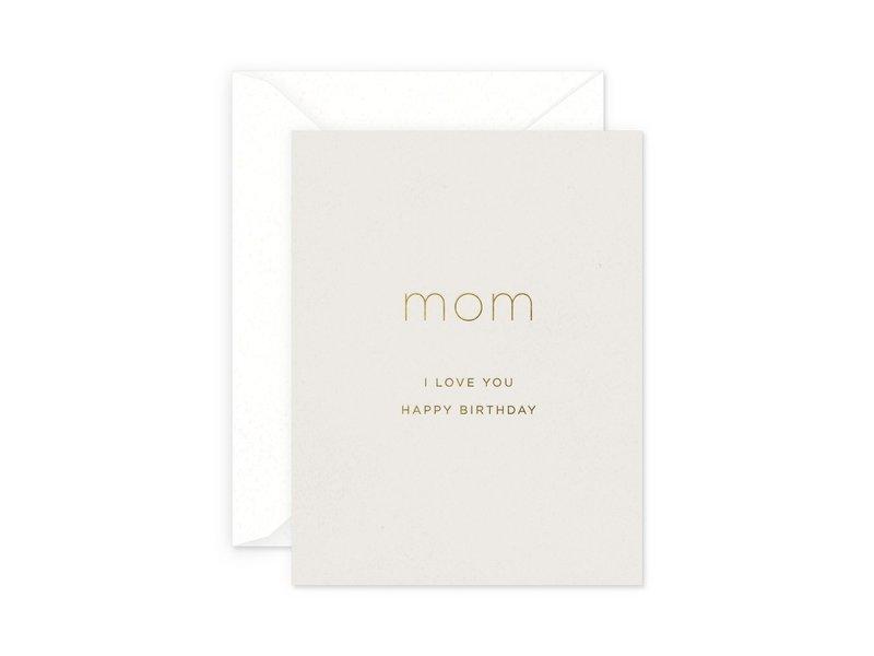 Smitten on Paper Mom Birthday Card