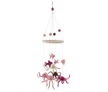 Under The Sea Mobile Pink